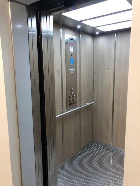Diamond Home Elevator - Los Angeles Elevator Keypad Panel With Steel Flooring