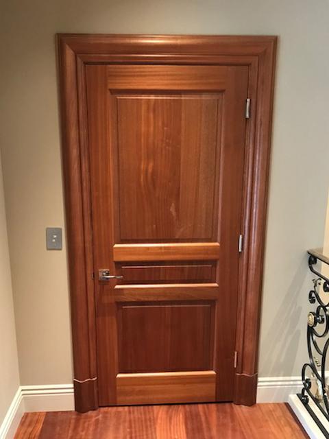 Home Elevator in San Francisco - Marble Interior Door Closed