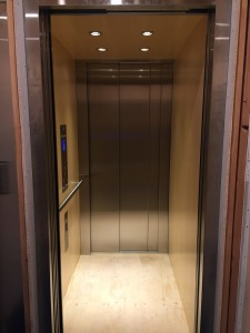 Savaria Home Elevator - Slim Line Doors