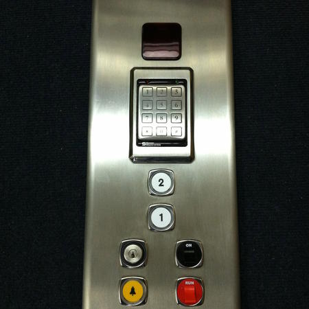Stainless Steel with Keypad Lockout