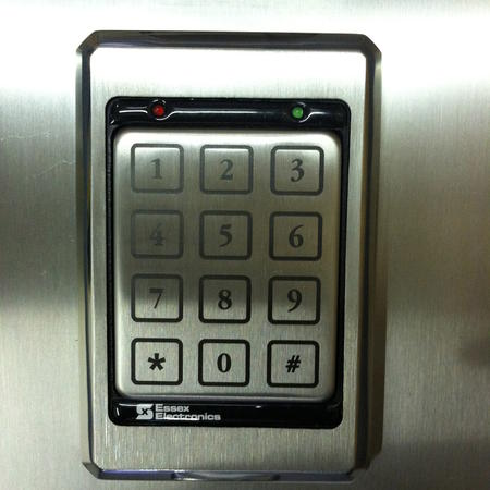 Stainless Steel Keypad Lockout