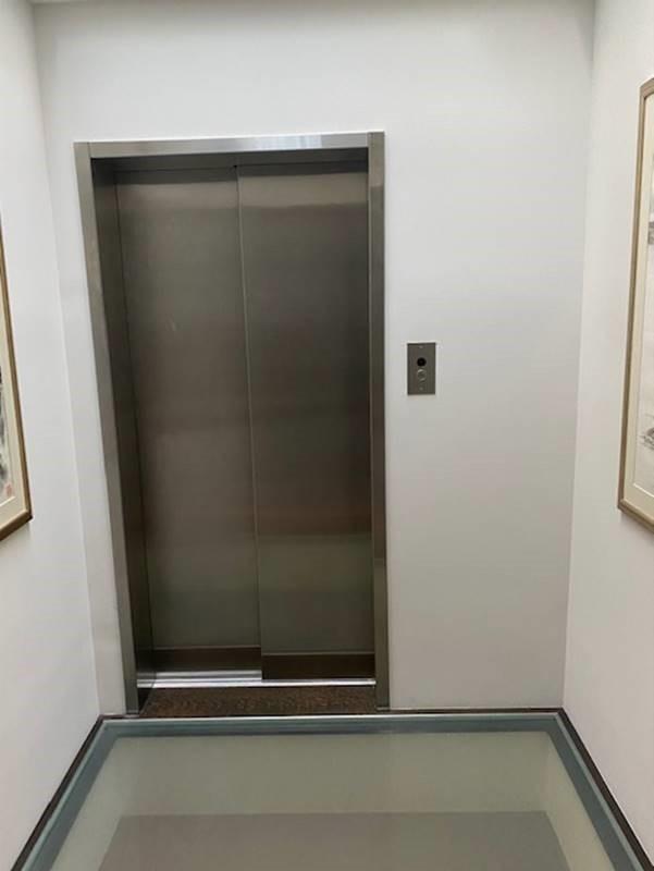 Savaria Home Elevator - Glass floor Silver Door