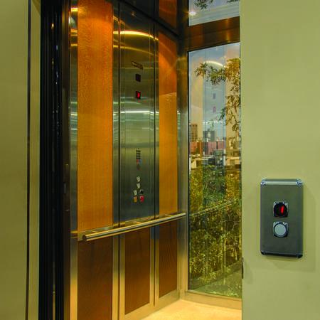 Volant custom home elevator san francisco for Elevator options