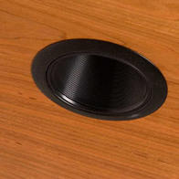 Recessed Light Black Bezel #1